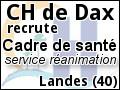 Recrute : Cadre de sant� : service r�animation