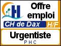 Recrute : Urgentiste PHC - CH Dax