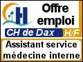 Recrute : Assistant service de m�decine interne