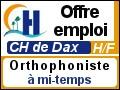 Recrute : Orthophoniste à mi-temps
