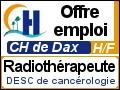 Recrute : Radiothérapeute titulaire du DESC de cancérologie