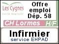 Recrute : Infirmier pour son service EHPAD