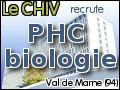 Recrute : Poste de PHC temps plein en biologie polyvalente