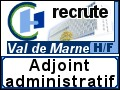 Recrute : Adjoint administratif
