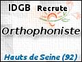 Recrute : Orthophoniste