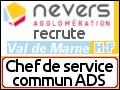 Recrute : Chef de service commun Application du Droit des Sols