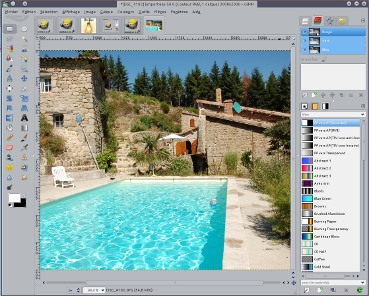 Installer GIMP version de développement 2.7