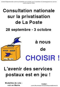 Référendum contre la privatisation de La Poste